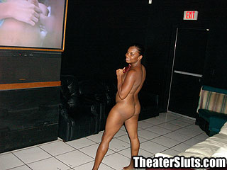Theater Slut monique Sex Crazed Ebony Freak Goes Buck Wild