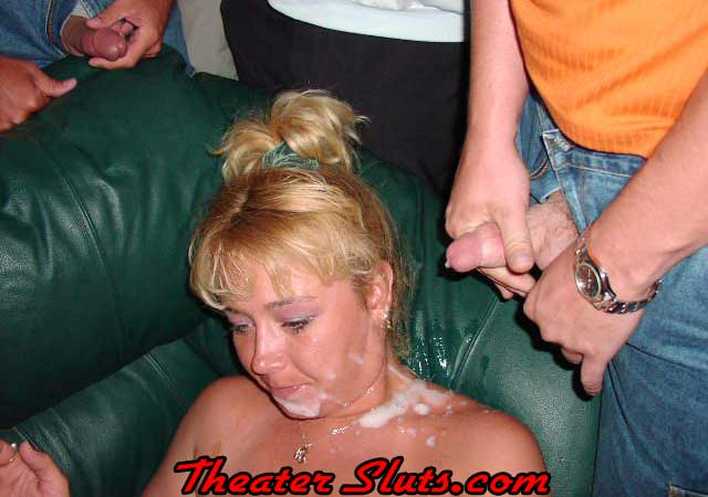 Amateur gloryhole theater cinema dogging gangbang compilation 3